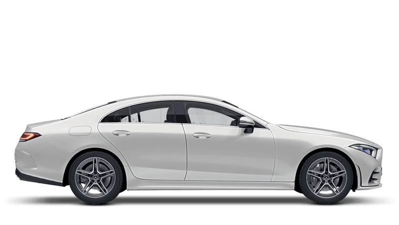 Diamond White (Designo Metallic) Mercedes-Benz CLS Coupe