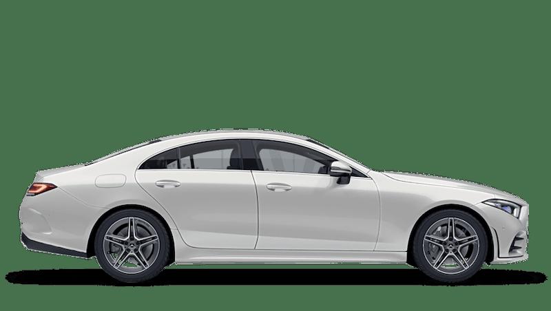 Diamond White (Designo Metallic) Mercedes-Benz CLS Coupe