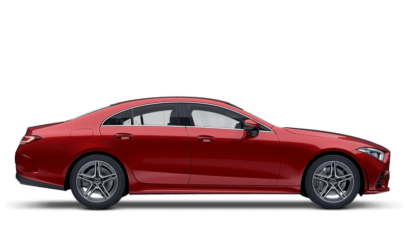 Hyacinth Red (Designo Metallic) Mercedes-Benz CLS Coupe