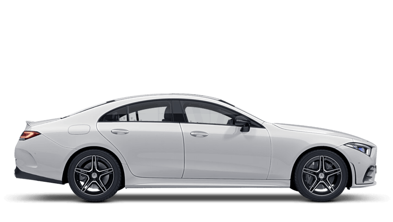 Polar White (Solid) Mercedes-Benz CLS Coupe