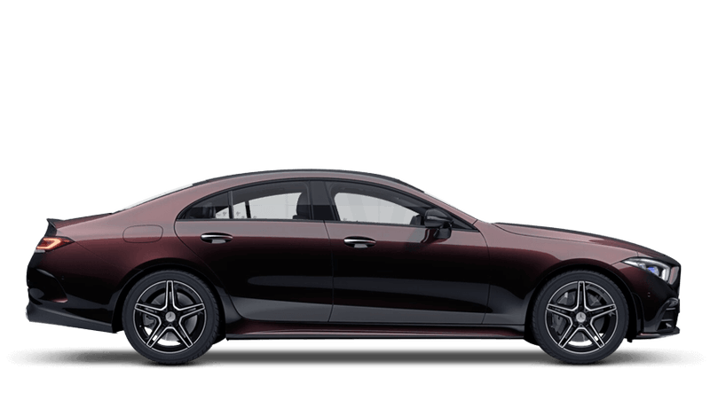 Ruby Black (Metallic) Mercedes-Benz CLS Coupe