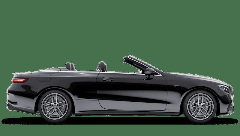 Black (Solid) Mercedes-Benz E Class Cabriolet