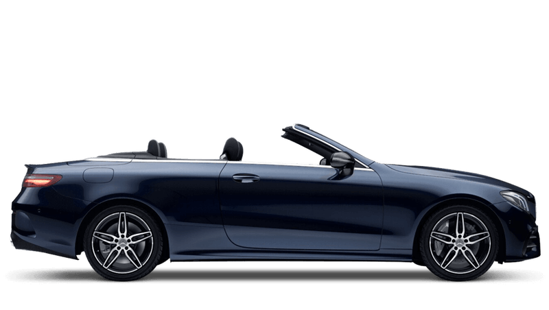 Cavansite Blue (Metallic) Mercedes-Benz E-Class Cabriolet