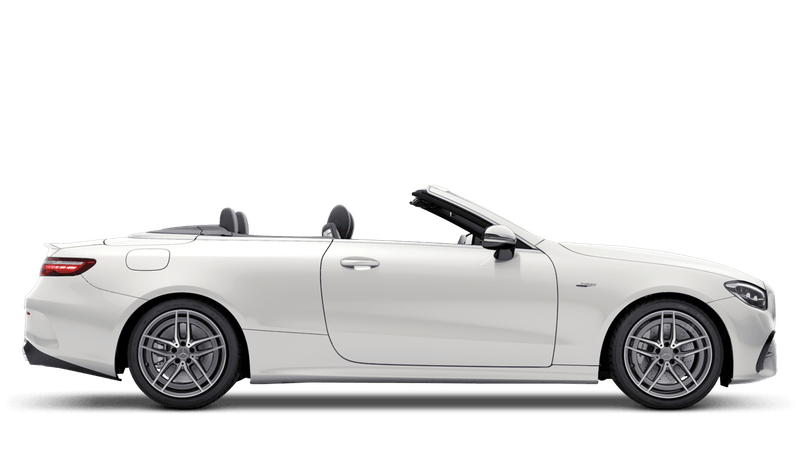 Diamond White (Designo Metallic) Mercedes-Benz E-Class Cabriolet