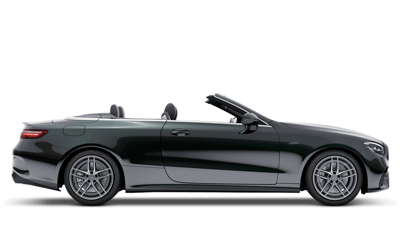 Emerald Green (Metallic) Mercedes-Benz E-Class Cabriolet