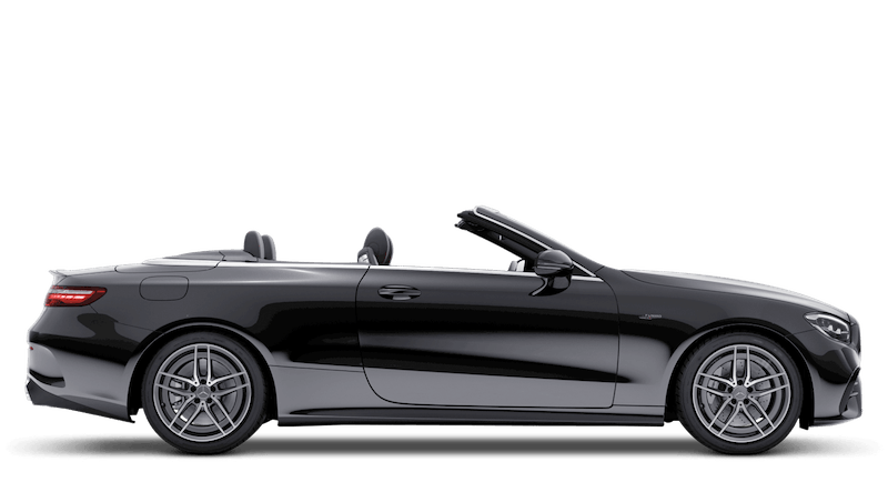 Obsidian Black (Metallic) Mercedes-Benz E-Class Cabriolet