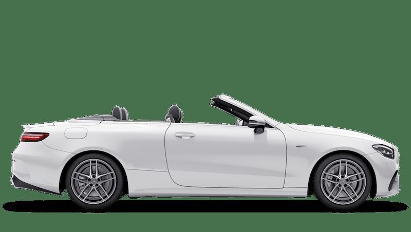 Polar White (Solid) Mercedes-Benz E Class Cabriolet