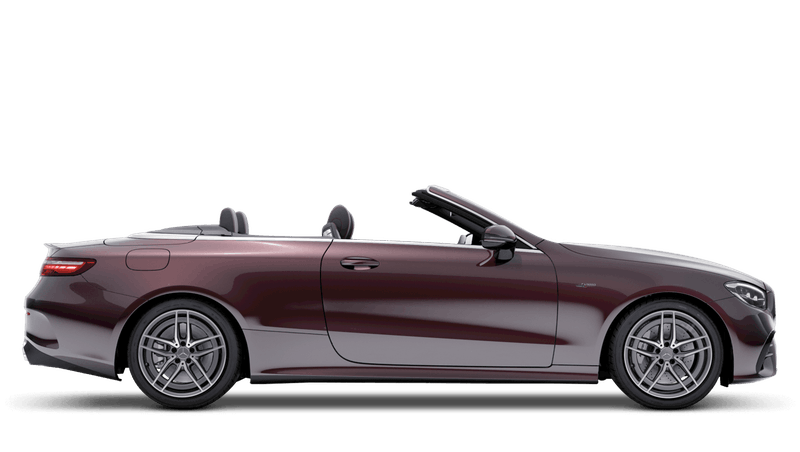 Rubellite Red (Metallic) Mercedes-Benz E-Class Cabriolet