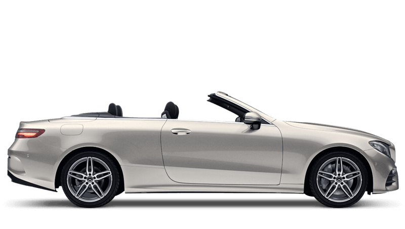 Aragonite Silver (Metallic) Mercedes-Benz E-Class Cabriolet