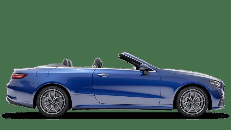 Brilliant Blue (Metallic) Mercedes-Benz E Class Cabriolet