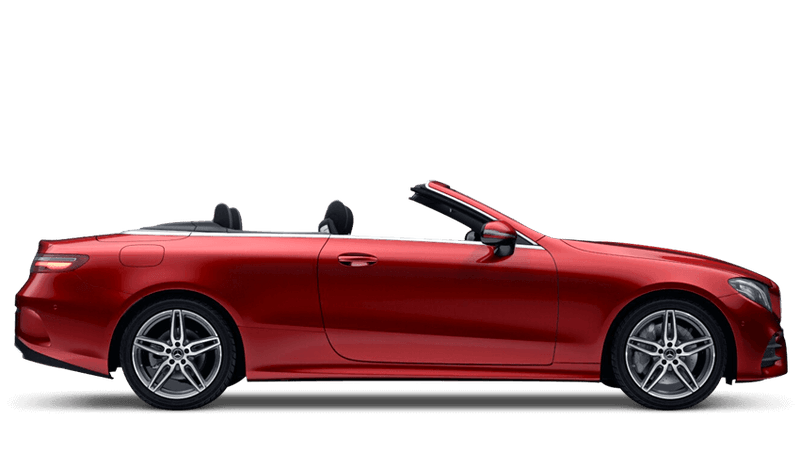 Hyacinth Red (Designo Metallic) Mercedes-Benz E-Class Cabriolet