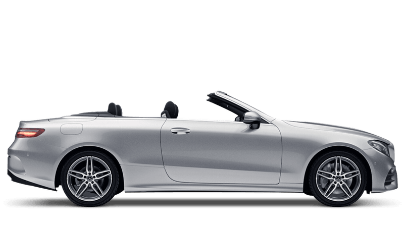 Iridium Silver (Metallic) Mercedes-Benz E-Class Cabriolet