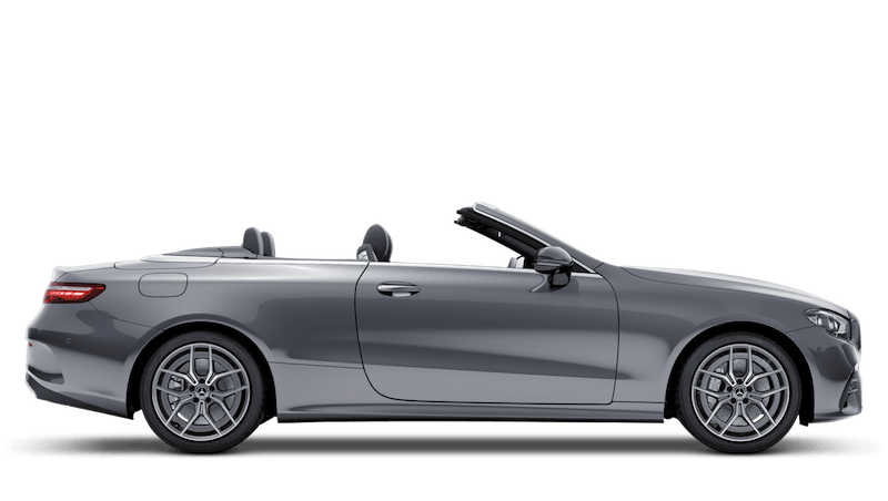 Selenite Grey (Metallic) Mercedes-Benz E-Class Cabriolet