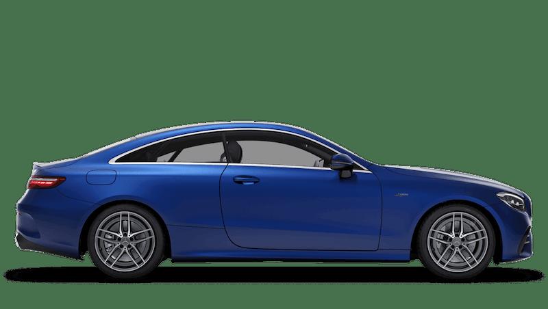 Brilliant Blue (Metallic) Mercedes-Benz E-Class Coupe