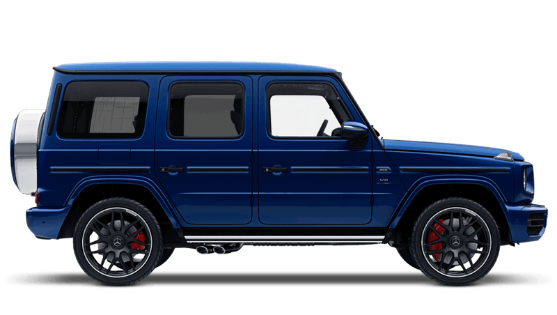 Brilliant Blue (Metallic) Mercedes-Benz G-Class