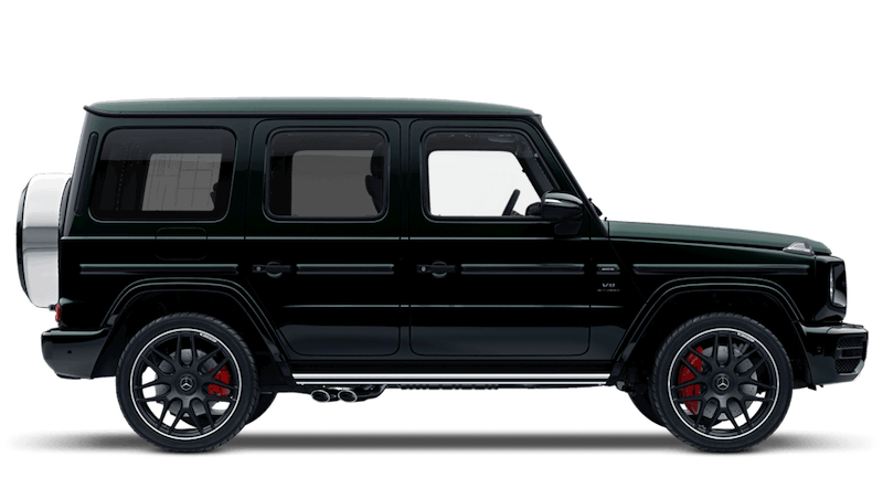 Emerald Green (Metallic) Mercedes-Benz G-Class