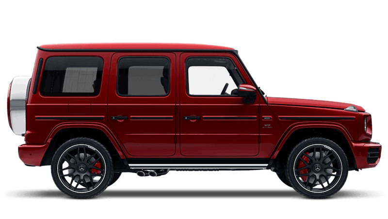 Hyacinth Red (Designo Metallic) Mercedes-Benz G-Class