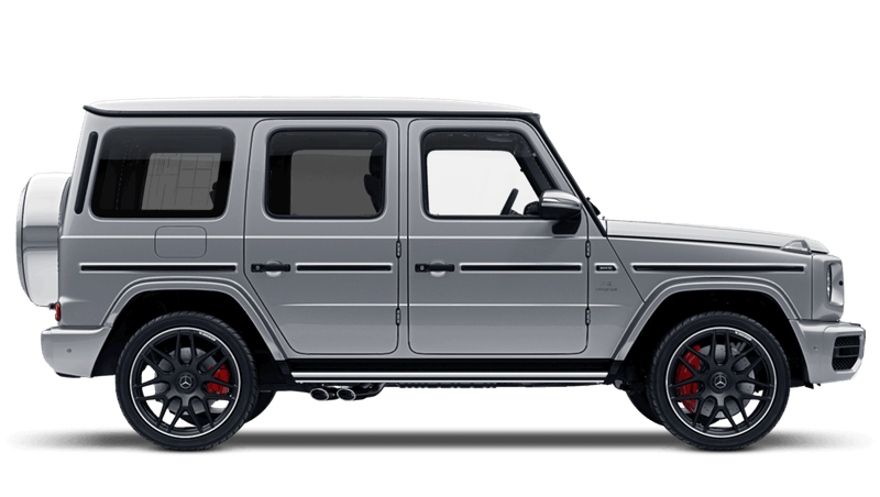 Iridium Silver (Metallic) Mercedes-Benz G-Class