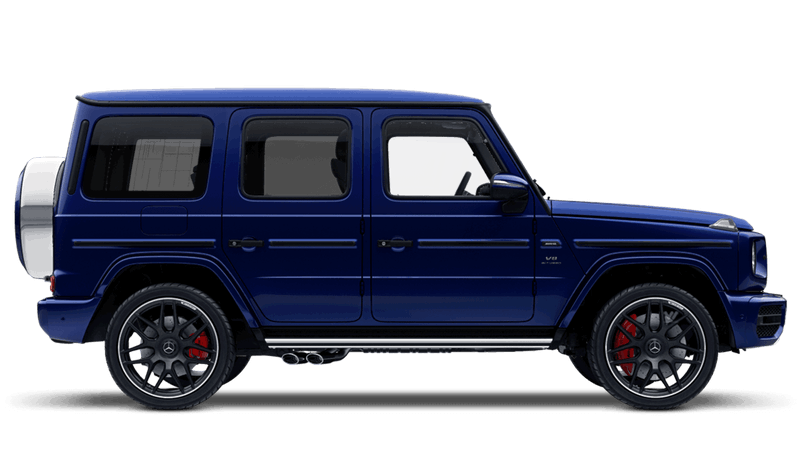 Mystic Blue (Designo Bright Metallic) Mercedes-Benz G-Class