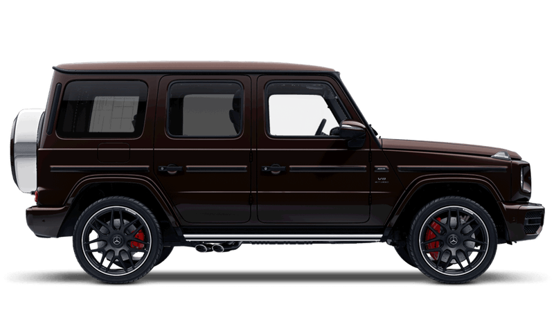 Mystic Brown (Designo Bright Metallic) Mercedes-Benz G-Class