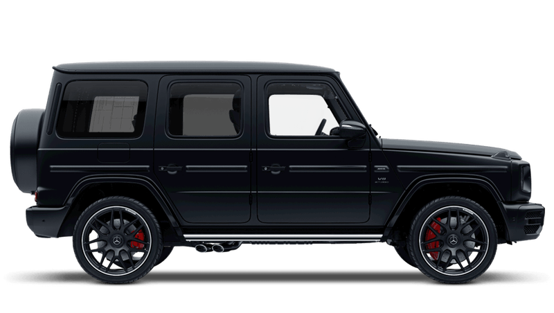 Night Black (Designo Magno) Mercedes-Benz G-Class