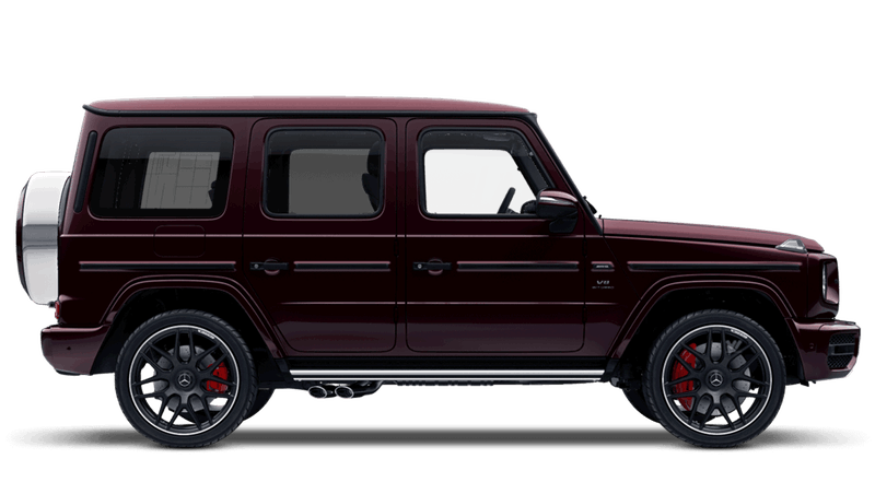 Rubellite Red (Metallic) Mercedes-Benz G-Class