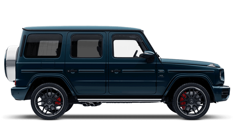 Sea Blue (Designo Metallic) Mercedes-Benz G-Class