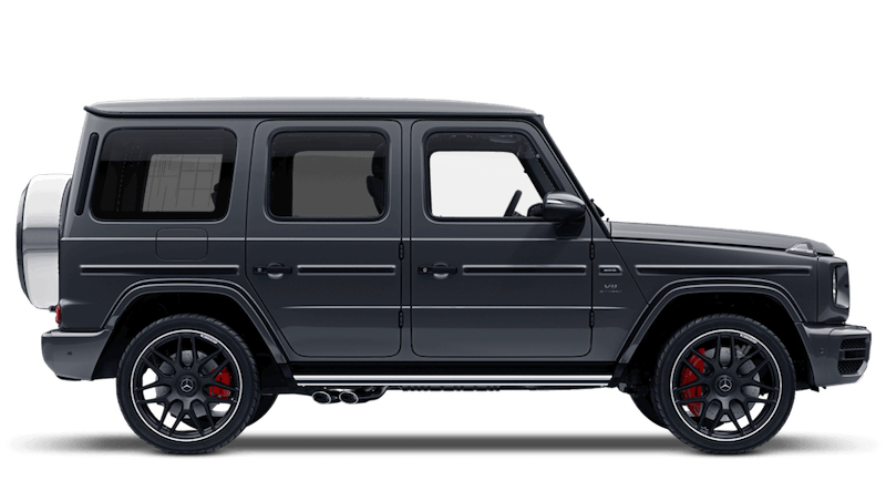 Selenite Grey (Metallic) Mercedes-Benz G-Class