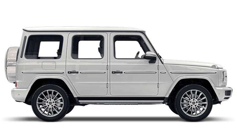 Diamond White (Bright) Mercedes-Benz G-Class