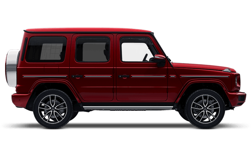 Hyacinth Red (Metallic) Mercedes-Benz G-Class