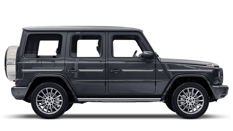 Magnetite Black (Metallic) Mercedes-Benz G-Class
