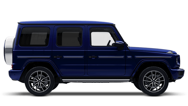 Mystic Blue (Bright) Mercedes-Benz G-Class