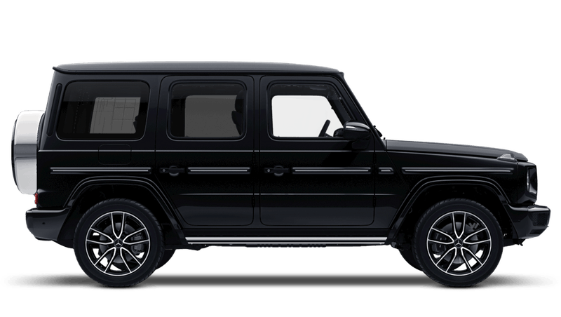 Obsidian Black (Metallic) Mercedes-Benz G-Class