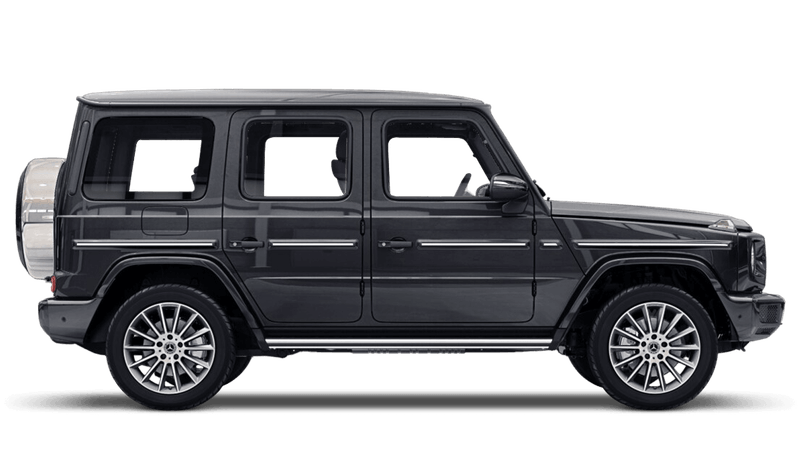 Platinum Black (Metallic) Mercedes-Benz G-Class