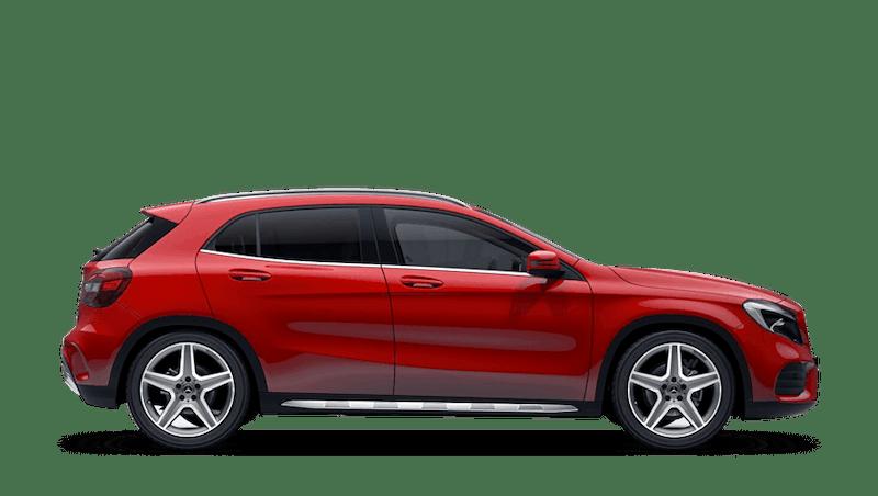 Jupiter Red (Solid) Mercedes-Benz GLA