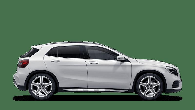 Polar White (Solid) Mercedes-Benz GLA