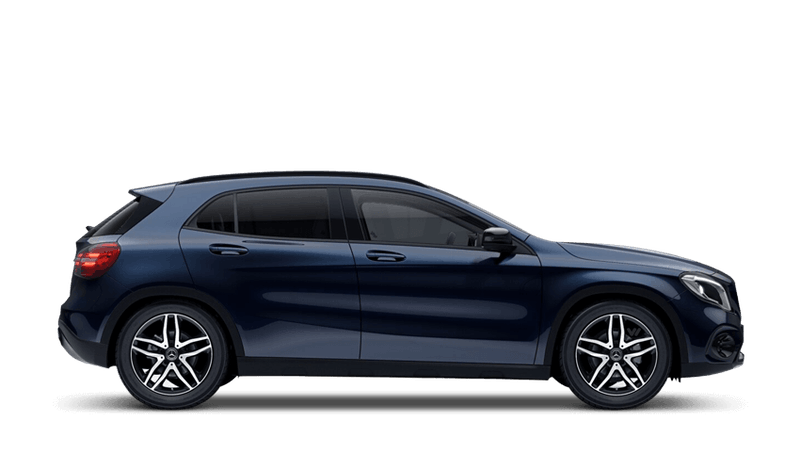 Cavansite Blue (Metallic) Mercedes-Benz GLA