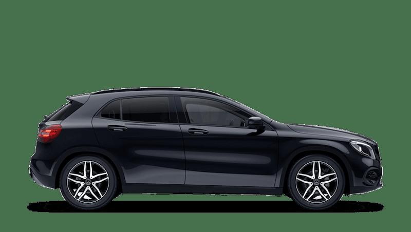 Cosmos Black (Metallic) Mercedes-Benz GLA