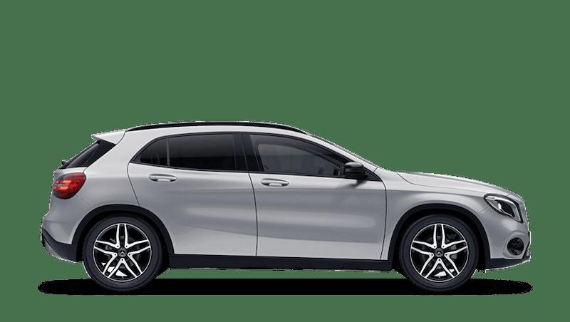 Iridium Silver (Metallic) Mercedes-Benz GLA