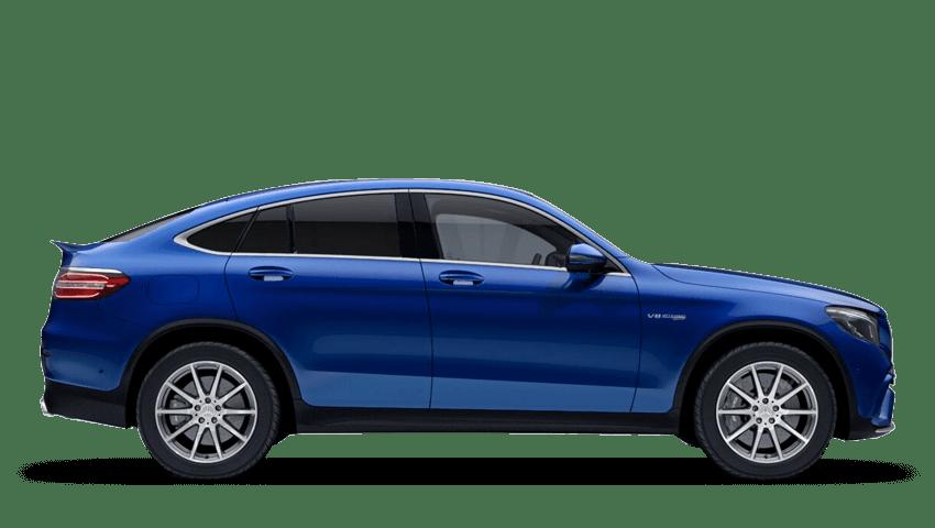 Brilliant Blue (Metallic) Mercedes-Benz Glc Coupe
