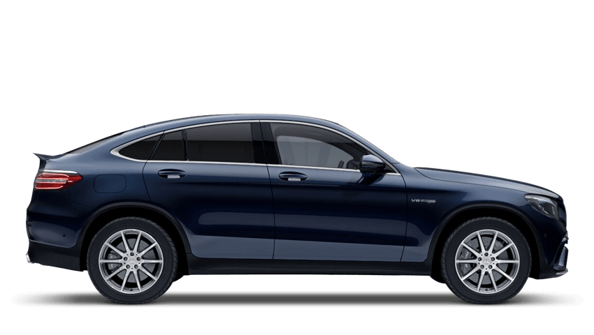 Cavansite Blue (Metallic) Mercedes-Benz Glc Coupe