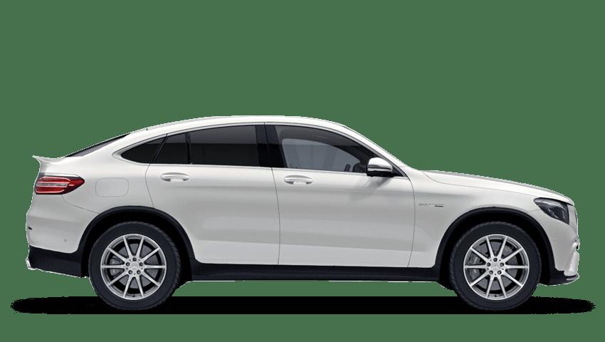 Diamond White (Designo Metallic) Mercedes-Benz Glc Coupe