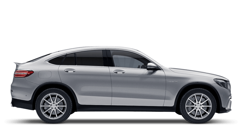 Iridium Silver (Metallic) Mercedes-Benz Glc Coupe