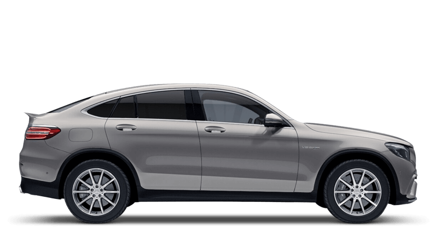 Mojave Silver (Metallic) Mercedes-Benz Glc Coupe
