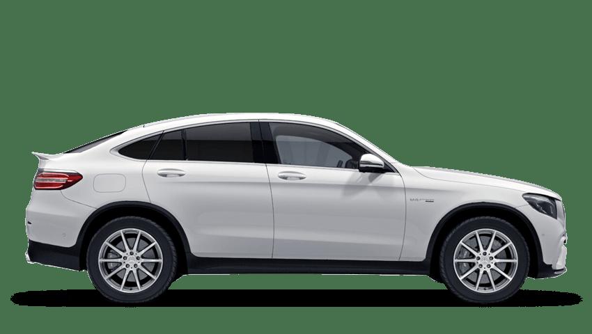 Polar White (Solid) Mercedes-Benz Glc Coupe