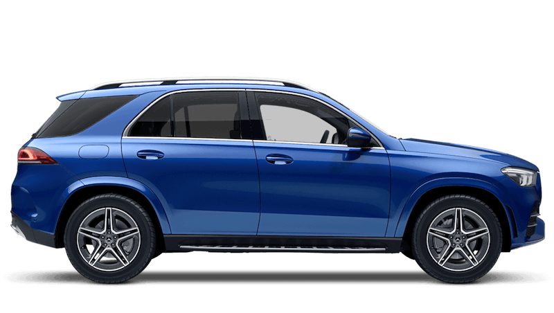 Brilliant Blue (Metallic) New Mercedes-Benz GLE