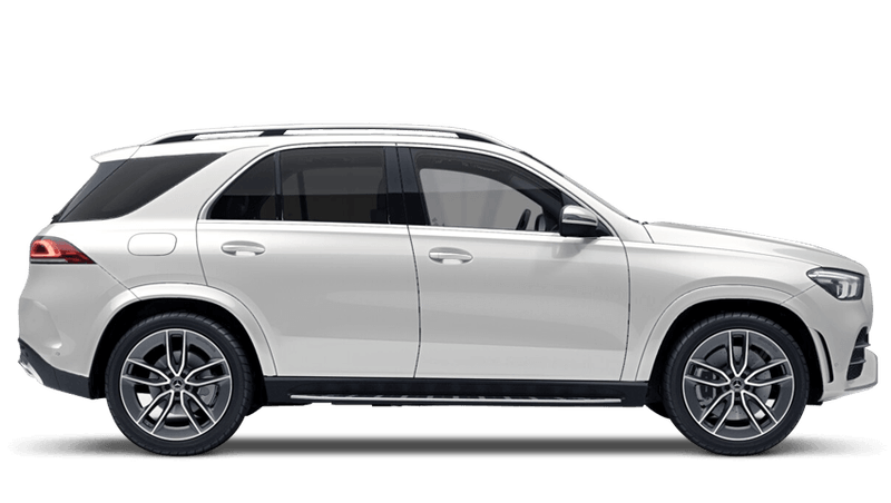 Diamond White (Special Metallic) New Mercedes-Benz GLE