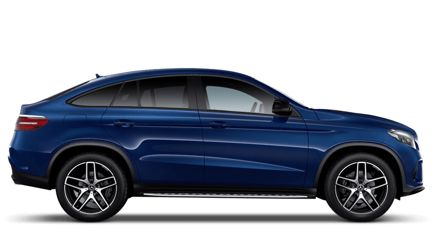 Brilliant Blue (Metallic) Mercedes-Benz Gle Coupe