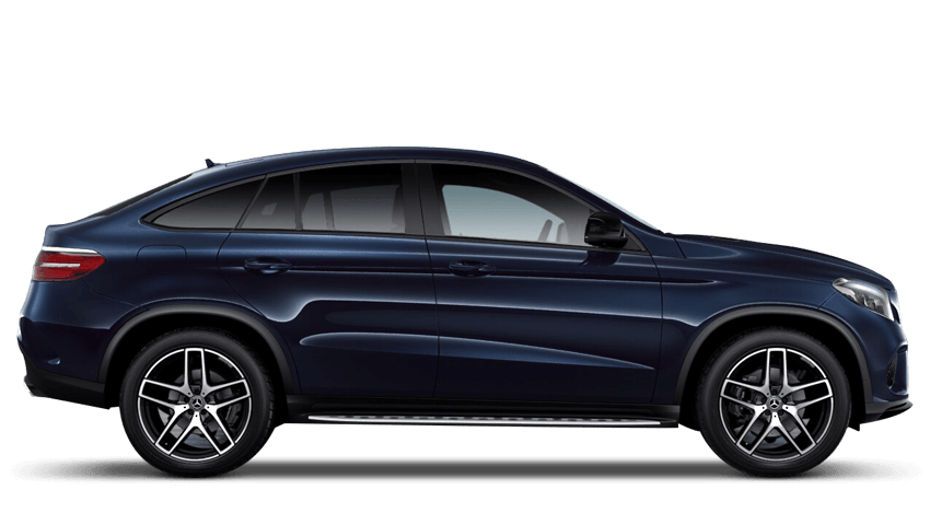 Cavansite Blue (Metallic) Mercedes-Benz Gle Coupe