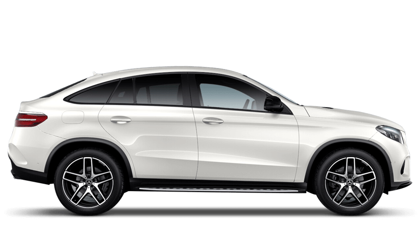 Diamond White (Special Metallic) Mercedes-Benz Gle Coupe